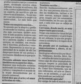 Entrevista a Teresa Ahedo en Deia (2)