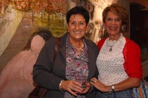 Kontxi Trigo y Teresa Ahedo