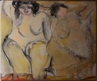 Las gordas del mural de Teresa Ahedo