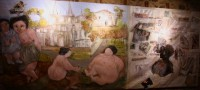 Imagen del mural expuesto