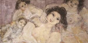 Oleo sobre lienzo de Teresa Ahedo