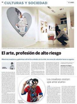 El arte profesión de riesgo (Página 1)